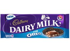 Mondelez is combining its Oreo and Cadbury Dairy Milk brands for the first time to launch a new chocolate bar. Cadbury Chocolate Bars, Dairy Milk Chocolate, Cadbury Dairy Milk, Chocolate Brands, Chocolate Lovers, Oreo Bars, British Sweets, Milk Brands, Peanut Butter Cups