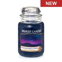 Kilimanjaro Stars - Candles - Yankee Candle ... Like nightfall on the ice covered peak, crisp, clear mountain air is laced with cool mint and earthy patchouli.