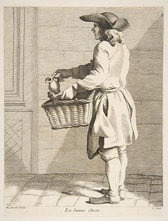 Ink Seller Anne Claude Philippe de Tubières, Comte de Caylus  (French, Paris 1692–1765 Paris)