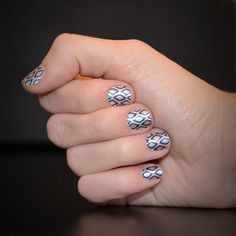 I love this look from @Sephora's #TheBeautyBoard: http://gallery.sephora.com/photo/diamond-pattern-nails-1065