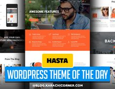 Hasta - Responsive Multipurpose WordPress Theme