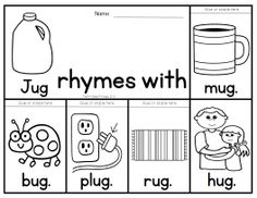 40 rhyming flip books to teach 40 different rhyming families.