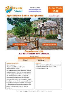 Agriturismo Santa Margherita - Gioiosa Marea (Me) #Capodanno 2018 Per info e preventivi tel 0921428602 Email: info@demirviaggi.com Web: www.demirviaggi.com #Sicilia #Viaggi #LastMinute #Offerte