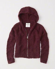 kids zip-up cozy hoodie