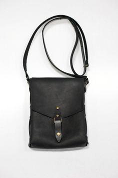 bags purses handbags crossbody bags black leather bag by Stasukan
