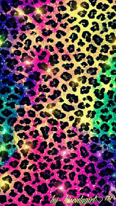 Leopard galaxy wallpaper I created for the app CocoPPa.