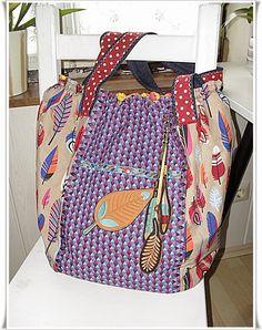 Markttasche by bellaina, pattern by farbenmix.de #nähen #taschenspieler2 #sewing #handmade #diy #bags #taschen