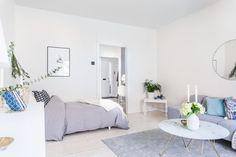 Design pur dans un studio: 40 square meters apartments