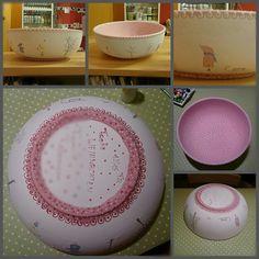 keramik set handbemalte keramik shabby chic just my stuff pinterest shabby pottery. Black Bedroom Furniture Sets. Home Design Ideas