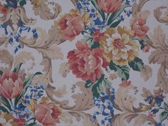 Pretty colors and a textured cloth, antique reproduction.  www.americanfolkandfabric.com