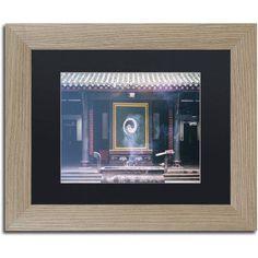 Trademark Fine Art Yin Yang Canvas Art by Philippe Hugonnard, Black Matte, Birch Frame, Assorted