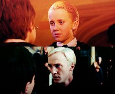 Movies were all yelling drarry...theres no ignoring it really