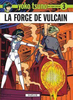 La forge de vulcain : dans cet album, Leloup se fait manifestement plaisir, les fresques mécaniques sont d'une précision hallucinante
