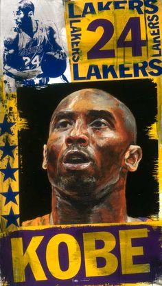 Original Kobe Bryant - Portrait | Stephen Holland #stephenholland