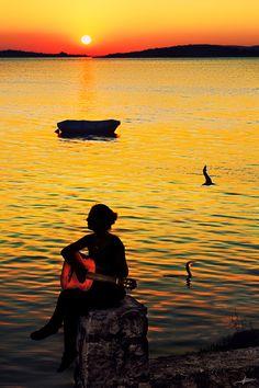 A Sunset Serenade.. TURKISH WOMEN(ISTANBUL-TURKEY)