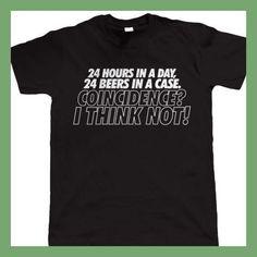 24 Stunden In Einem Tag Herren Lustige Beer T-shirt Printed T-Shirt Men'S Short Sleeve O-Neck T Shirts Summer Stree Twear
