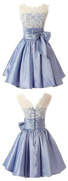 https://www.occasiongirl.com/homecoming-dresses/elegant-scalloped-edge-knee-length-blue-homecoming-dress-with-white-lace-bowknot.html elegant style homecoming dress, scalloped edge homecoming dress, knee-length homecoming dress, blue homecoming dress, homecoming dress with white lace, homecoming dress with bowknot, 2016 homecoming dress, discount homecoming dress, dress for homecoming, cheap homecoming dress, #2016 #blue #short #cheap