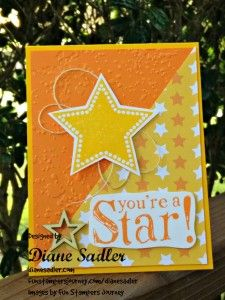 Fun Stampers Card designed by dianesadler.com You can get this stamp set for free with a $50 purchase at funstampersjourney.com/dianesadler