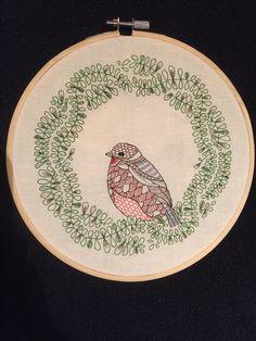 Geborduurd/embroidery