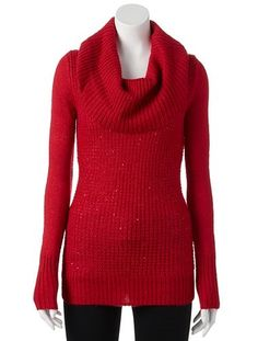 Candie's® Sparkle Popover Sweater - Juniors | Beauty Board ...