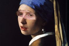 The Girl With The Funny Eyes. Vermeer & Me