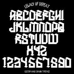 Classic Font Styles