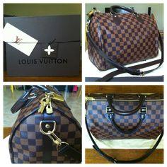 Louis Vuitton Speedy 30 Damier Ebene Bandouliere....PRRRREECIOUSSSSSS!!!!!!!!!!!!!!!!!!