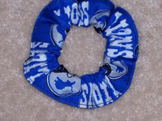 Detriot Lions Fabric Hair Scrunchie NFL by Scrunchiesbysherry, $3.75