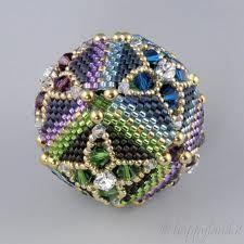 beaded bead 20 mm pattern delica - Cerca con Google