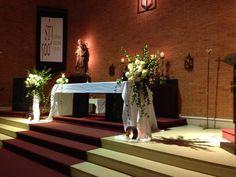 #Blume - decoracion iglesia casamiento Cecilia y Guillermo