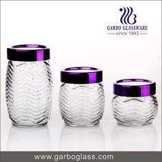 glass food container with lids