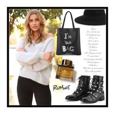"""""""Romwe 3."""" by amra-sarajlic ❤ liked on Polyvore featuring Burberry and romwe"""