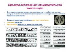 принципы построения линейного орнамента: 10 тыс изображений найдено в Яндекс.Картинках