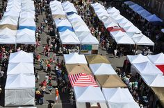 The SoWa Open Market in Boston's South End - an ever-changing group of artisans and farmstands each Sunday!