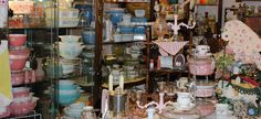 """Visit the Orange Antiques Mall in Winter Park, just minutes from Orlando, a 90-dealer building that's chock-full of collectibles and furnishings — from Victorian serveware to mid-century modern pieces, vintage clothing to shabby chic home décor. """"It's my favorite store in the area,"""" says Anna Bond, creative director and owner of Rifle Paper Co. """"I go often because they're always getting new things, and I love a treasure hunt."""" 853 S. Orlando Ave., Winter Park, FL; (407) 644-4547"""