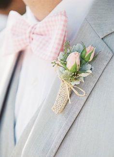 Tout un symbole : signe d'amour et d'engagement, voici 10 idées pour une boutonniere mariage assortis, coloré, version chic et nature, boutonnière en papier