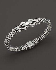 Lagos Sterling Silver Derby Rope Bracelet | Bloomingdale's