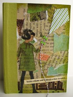 paperheARTproject: Who's Who: Book Journal