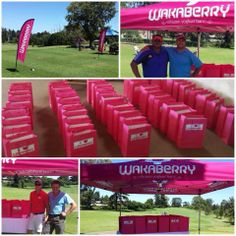 This past weekend, #Wakaberry George sponsored prizes, waters and goodie bags for the SWD Golf day to raise funds for their action netball and cricket teams.