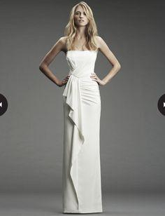 90d67689072bd Wedding dress online shop - Satin Strapless Softly Curved Neckline Soft  Rouched Bodice Sheath Pick-up Skirt Hot Sell Wedding Dress
