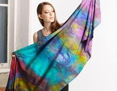 A beautiful and unique modal scarf that is perfect for your collection! Shop artistic modal scarf's created by designers all around the world. Blue Springs, Tie Dye Skirt, Design Trends, Scarves, Kimono Top, Wings, Sari, Unique, Shopping