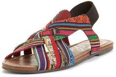 ShopStyle: Rebels Shoes, Basmati Flat Sandals