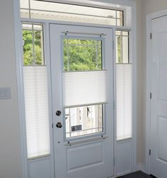 Pleated Shades Are An Economical Yet Highly Functional Window Covering Solution For Door Gl And Side Light Windows Various Ways To Open Shade Top Down