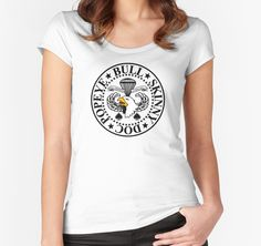 """Band of Brothers Crest"" Women's Fitted Scoop T-Shirts by engyles 