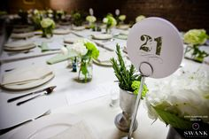 Planned, Designed & Produced by www.swankproductions.com Tuscan Wedding at Angel Orensanz. Table Numbers #swank #tuscan #wedding #reception #angel #orensanz #orange #extravagant #beautiful #creative #ideas #inspiration #table #setting #number #decor #Angelorensanzfoundation