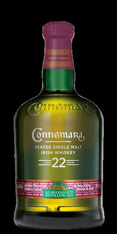 Discover Connemara 22 Year Old Single Malt Whiskey Whiskey Cream, Scotch Whiskey, Irish Whiskey, Bourbon Whiskey, Alcohol Mixers, Alcohol Bottles, Liquor Bottles, Tequila, Rum Bottle