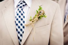 Modern Nautical Wedding in Wisconsin | Images by Soda Fountain Photography | Via Modernly Wed | 16