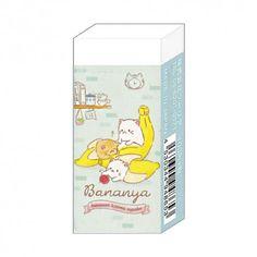 Bananya Anime Cat Eraser (◕ᴥ◕) Kawaii Panda - Making Life Cuter