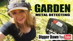 I wondered if there was a gold ring in my garden, so I decided to find out! I put the batteries back in my Garrett AT Max metal detector, put on my cap and s. Metal Detecting Videos, Dawn Pictures, Treasure Hunting, Metal Detector, Digger, How To Find Out, Garden, Garten, Detector De Metal