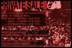 Private Sale Milano Via Tortona